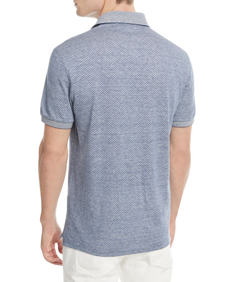 Micro-Design Polo Shirt