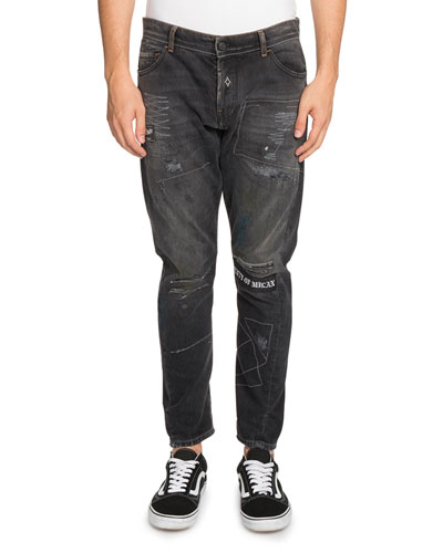 Gothic Surfer Anti-Fit Jeans