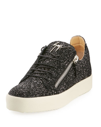 Men's Glitter Low-Top Sneakers