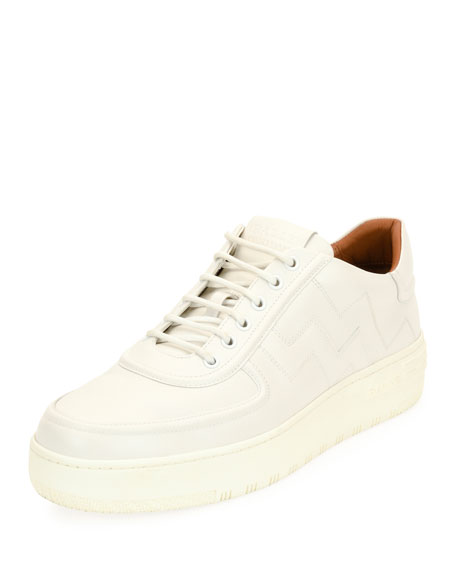 Image 1 of 1: Men's Othello Leather Low-Top Platform Sneakers