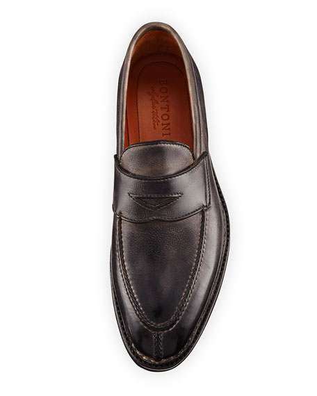 Principe Leather Penny Loafer