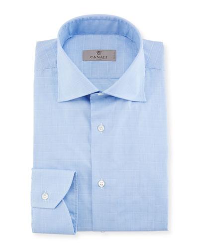 Tattersall Cotton Dress Shirt