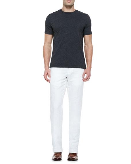 Chinolino Linen-Blend Trousers