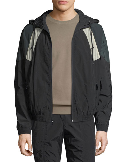 Hooded Soft-Shell Jacket