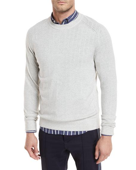 Seamed Merino Crewneck Sweatshirt