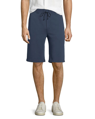 Solid-Knit Sweat Shorts