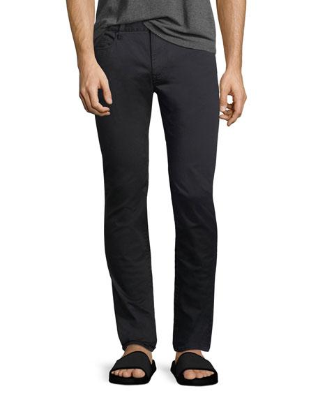 Skinny Five-Pocket Twill Pants