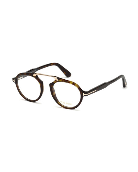 Havana Optical Bridgeless Glasses