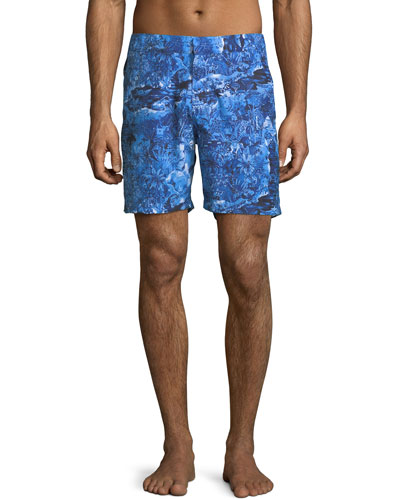 Maui Modern-Fit Swim Trunks