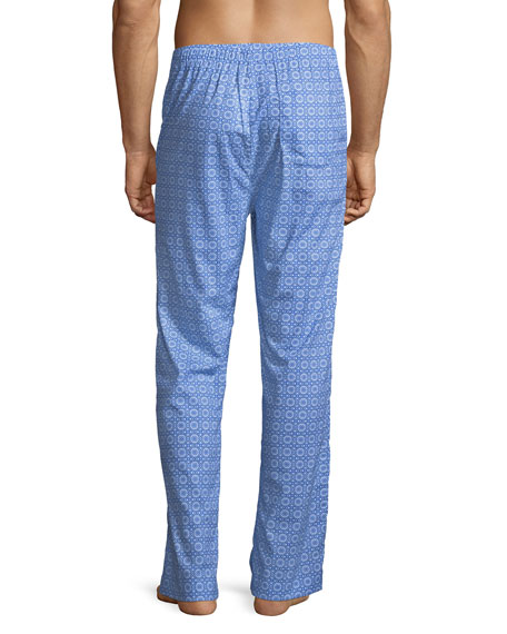 Ledbury 5 Medallion-Pattern Cotton Lounge Pants