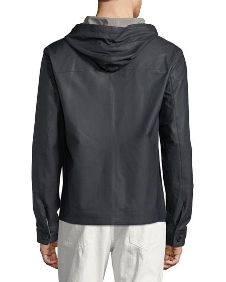 Waterfront Reversible Hooded Bomber Jacket