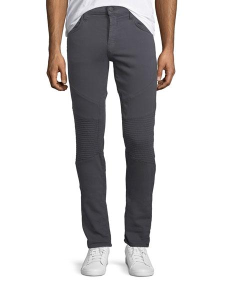 Bearden Skinny-Leg Moto Jeans