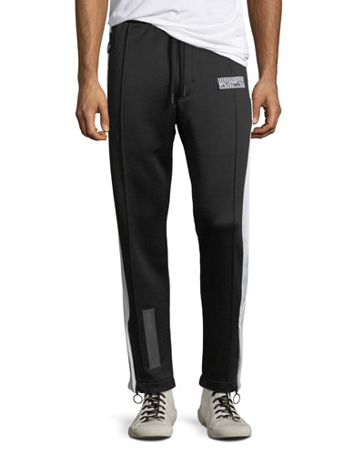Men's Bicolor Slim Track Pants