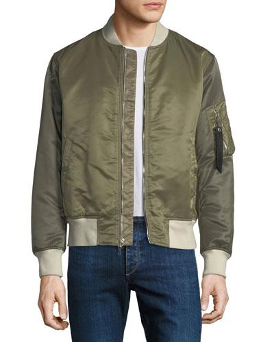 Men's Manston Colorblock Bomber Jacket