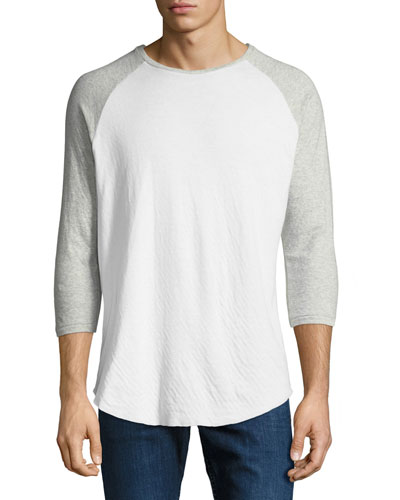 Men's Rigby Two-Tone Baseball T-Shirt
