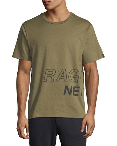 Men's Wraparound-Graphic T-Shirt