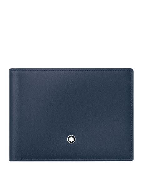 Meisterstuck Leather Bifold Wallet, Navy
