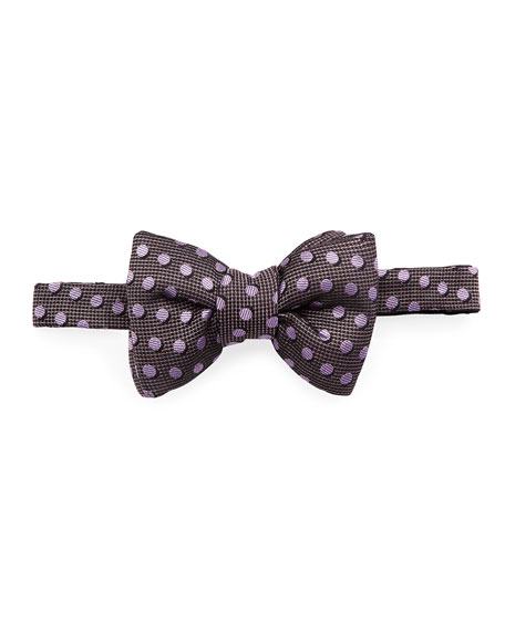 Shadow Dot Bow Tie