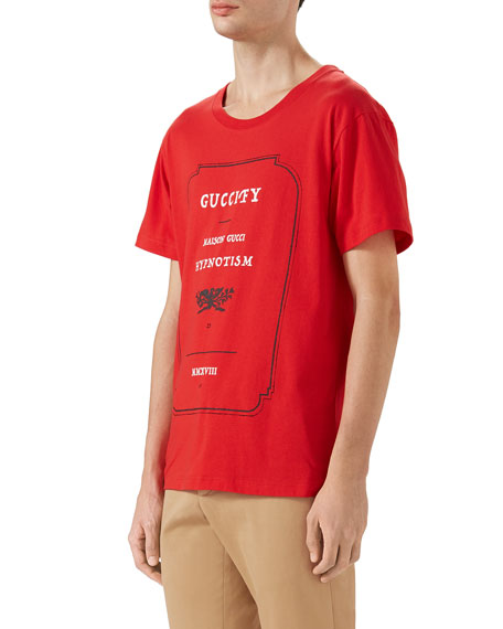 a7c8347d Gucci Loved Hypnotism Graphic T-Shirt
