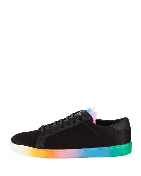 6093686b473684 Saint Laurent Men s SL01 Court Classic Ombre Low-Top Sneakers