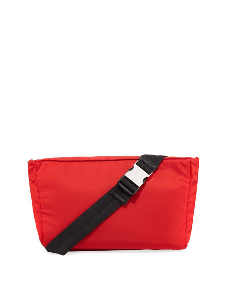 bb7f46bca237 Prada Solid Nylon Belt Bag