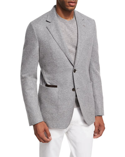 Cashmere-Cotton Soft Blazer