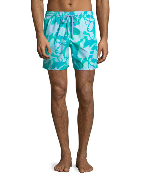 Men's Moorea Camouflage Turtles Swim Trunks