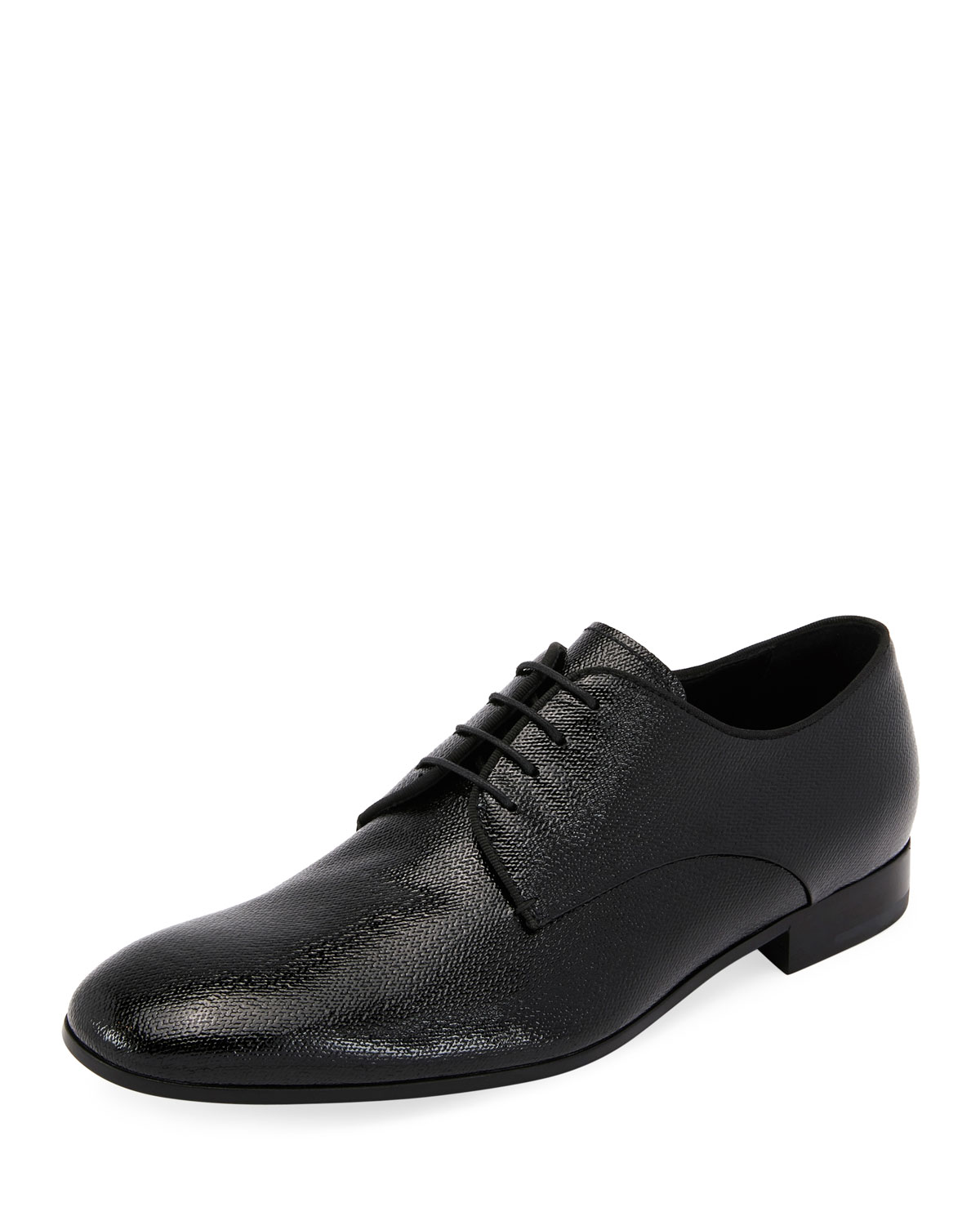competitive price 8834a 55d1a Vernice Olona Textured Leather Oxford Shoe