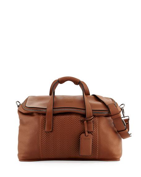 053df55de8f4 Giorgio Armani Calf Leather Weekender Bag. Calf Leather Weekender Bag