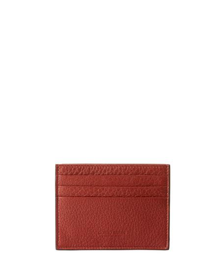 65270847b8 Cervo Leather Credit Card Holder