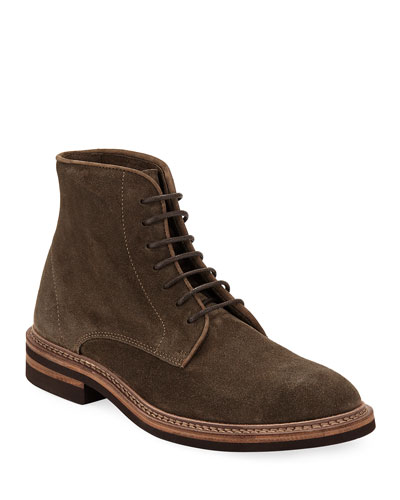 Kude Suede Lace-Up Boot