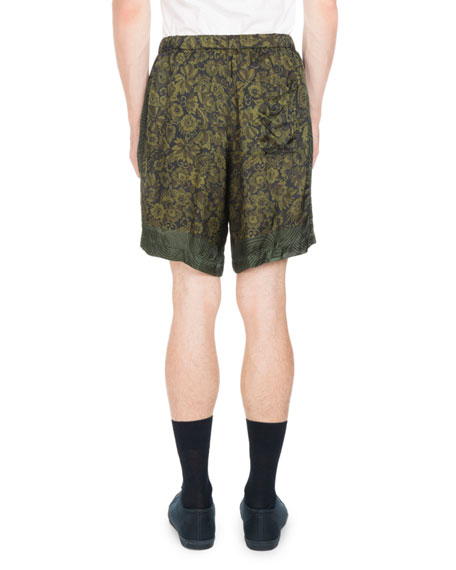 Piper Floral Drawstring Shorts