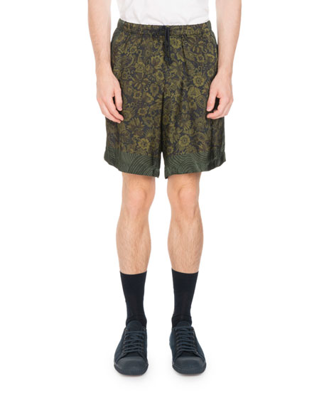 Piper Floral Drawstring Shorts