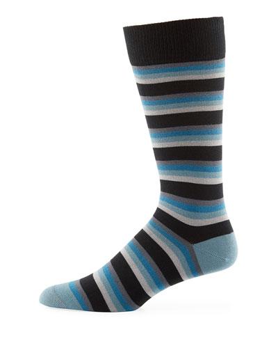Odd Tie Striped Socks
