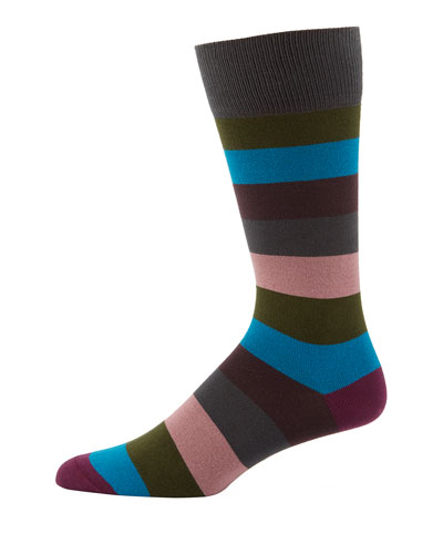 Buxton Striped Socks