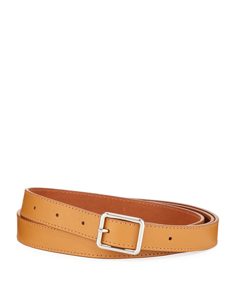 Dries Van Noten Men's Solid Leather Belt