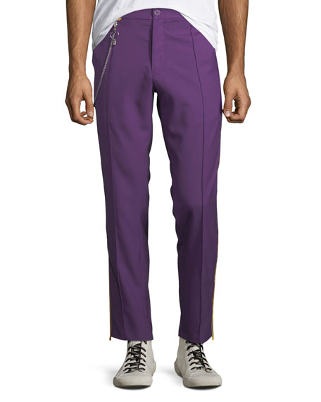 Ovadia & Sons Men's Sideline Wool Track Pants