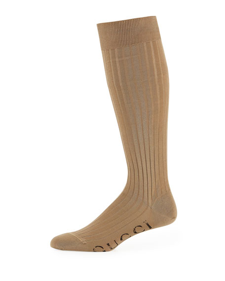 Gucci Costy Logo Ribbed Socks