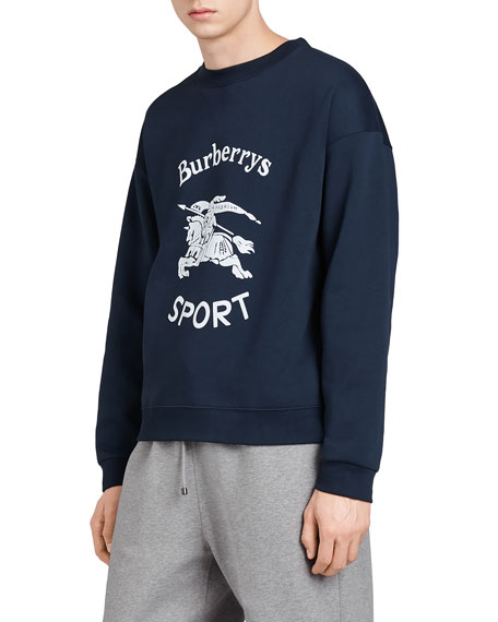 Logo Sport Cotton-Blend Sweatshirt