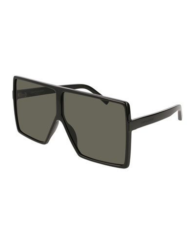 SL 183 Betty Acetate Shield Sunglasses