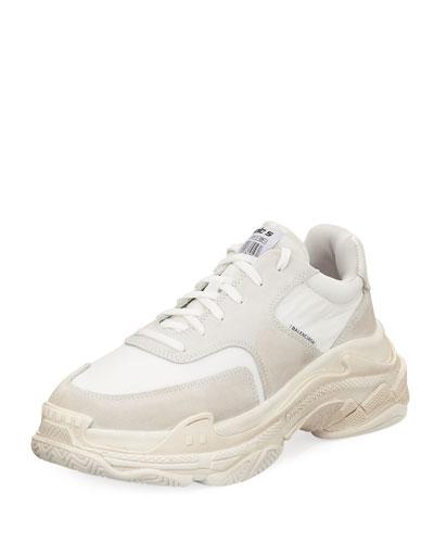 Triple S Tonal Leather Sneaker