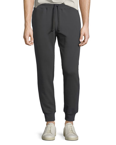 Cotton-Blend Drawstring-Waist Sweatpants