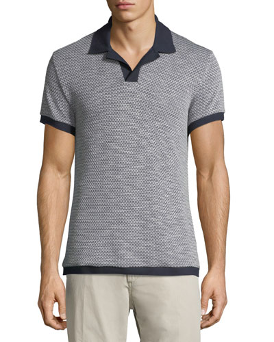 Felix Vintage Jacquard Polo Shirt