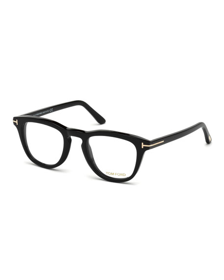 81352756b3 TOM FORD Square Acetate Optical Frames