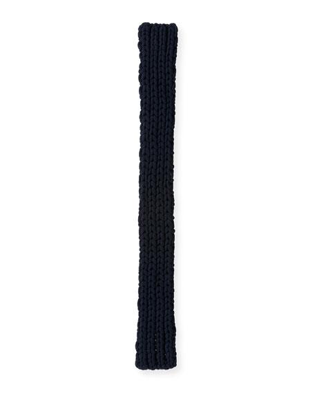 Men's Chunky Knit Cashmere Scarf