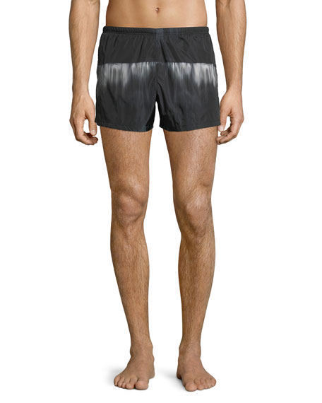 e65eedc0a50e3 Prada Graphic Nylon Swim Trunks