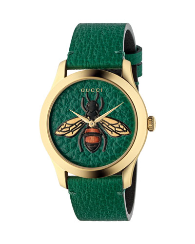 Bee Leather Watch