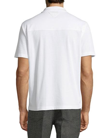 Solid Cuban Bowling Shirt