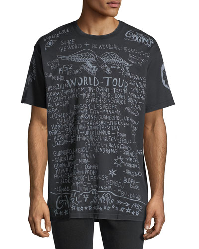 World Tour Graphic Logo T-Shirt