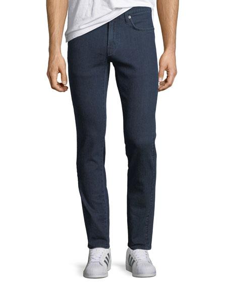 J Brand Men's Musconite Moto Slim-Fit Jeans